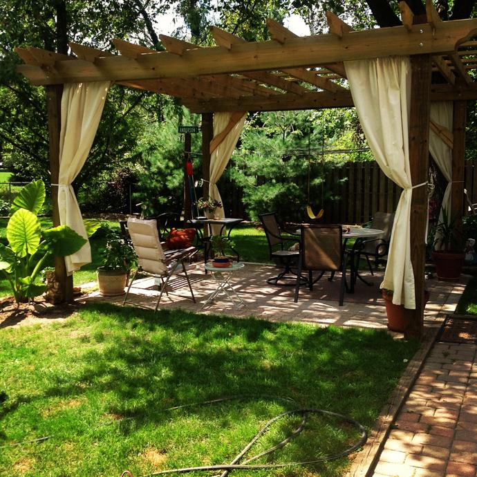 garden idea wooden decoration (8)