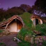 แบบบ้านทรงโดมอนุรักษ์ธรรมชาติ แรงบันดาลใจจาก 'บ้านฮอบบิท' ตกแต่งภายคลาสสิค