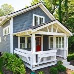บ้านกระท่อมแบบอเมริกันสไตล์ กับการออกแบบชั้นครึ่ง ภายในแบบลอฟท์ดูน่าอยู่