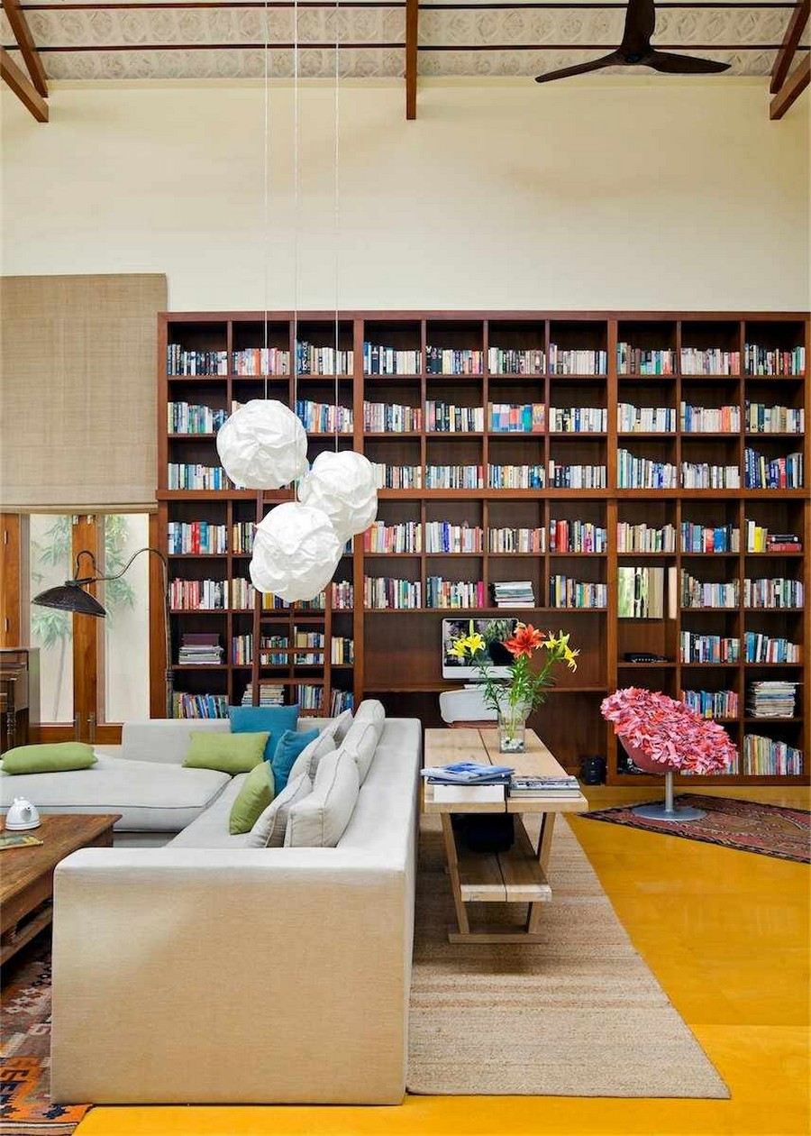 library house modern contemporary tropical in india (14)