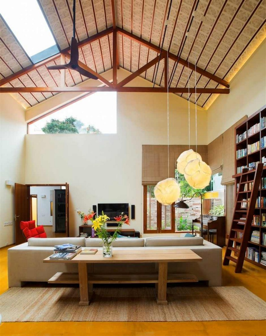 library house modern contemporary tropical in india (15)