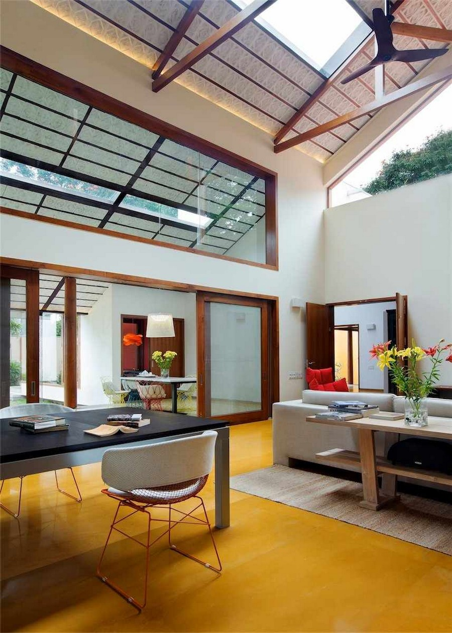 library house modern contemporary tropical in india (16)