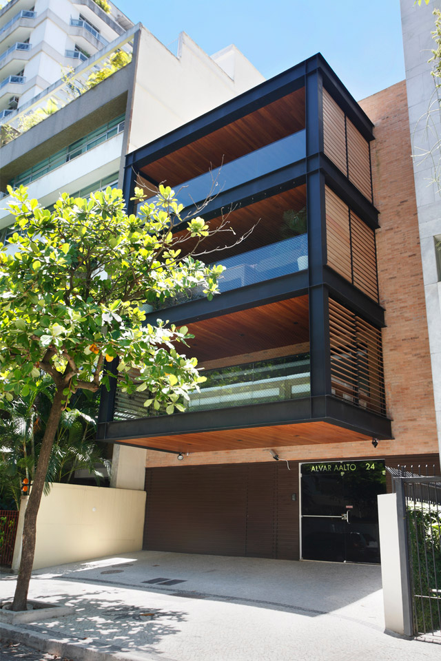 modern contemporary townhouse in brazil (1)