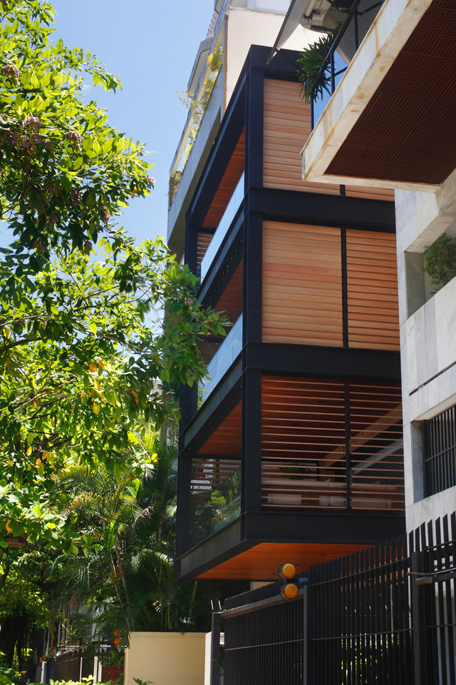 modern contemporary townhouse in brazil (2)