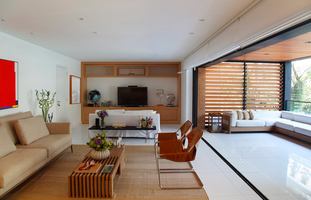 modern contemporary townhouse in brazil (8)