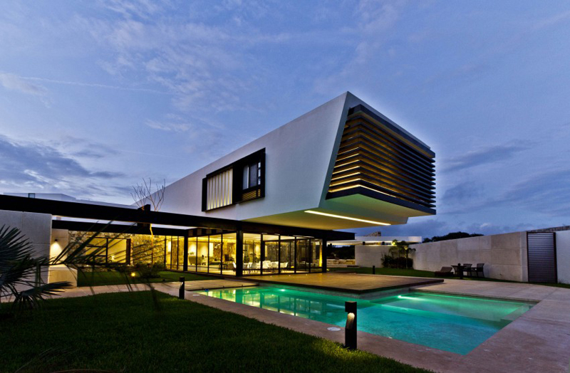 modern house 300 sq mt space in mexico (4)