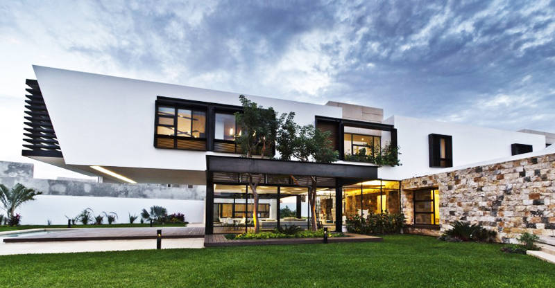 modern house 300 sq mt space in mexico (7)