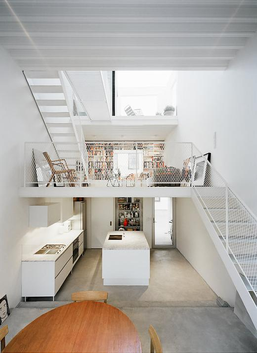 modern house idea townhouse with small office space in sweden (5)