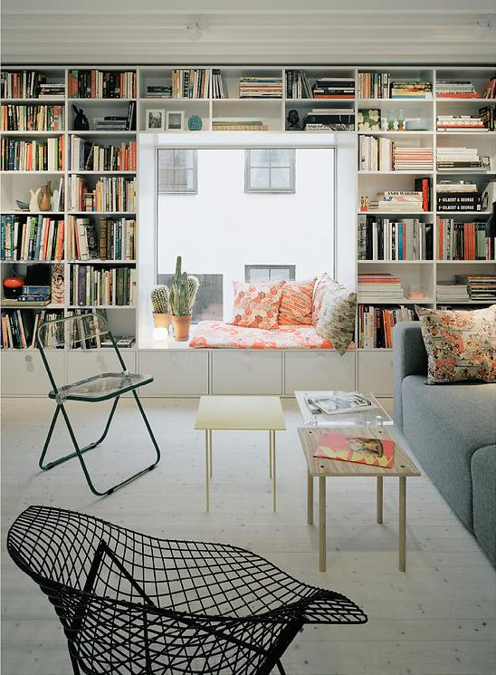 modern house idea townhouse with small office space in sweden (7)