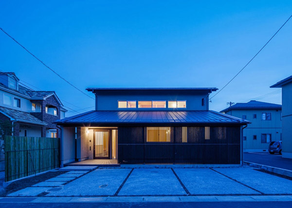 modern japanes house with zen garden (14)