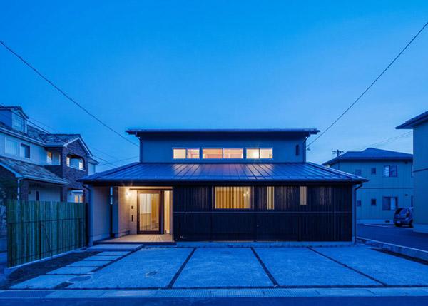 modern japanes house with zen garden (14)