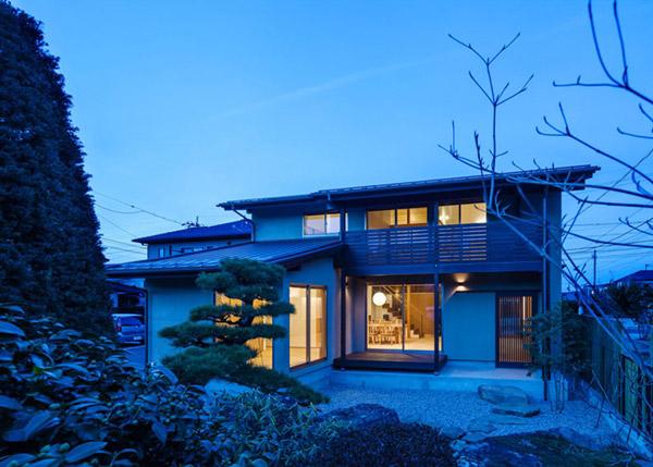 modern japanes house with zen garden (15)