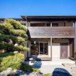 แบบบ้านสองชั้นแนวโมเดิร์น-ญี่ปุ่น กับพื้นที่สวนดูสงบ เรียบง่าย อยู่อย่างสบายใจ