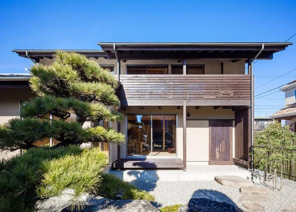 modern japanes house with zen garden (3)