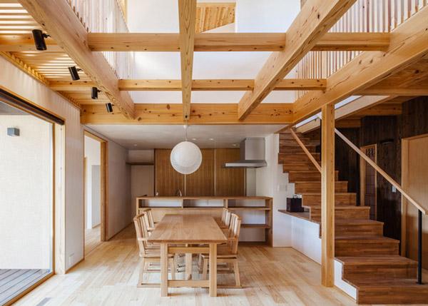 modern japanes house with zen garden (5)