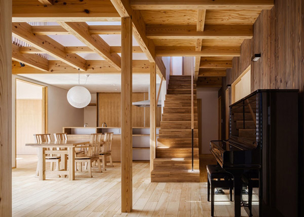 modern japanes house with zen garden (6)