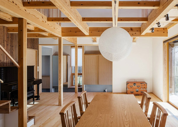 modern japanes house with zen garden (7)