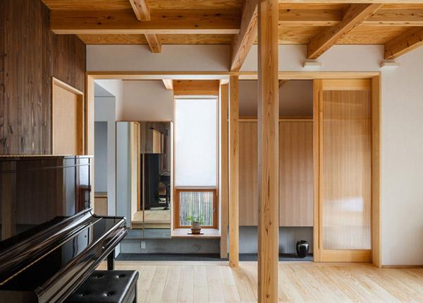 modern japanes house with zen garden (8)