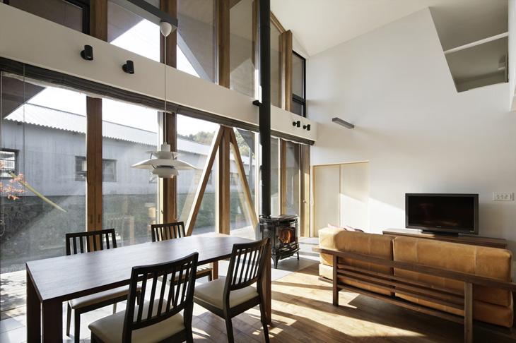 modern loft triangle house tsc architect in japan (10)