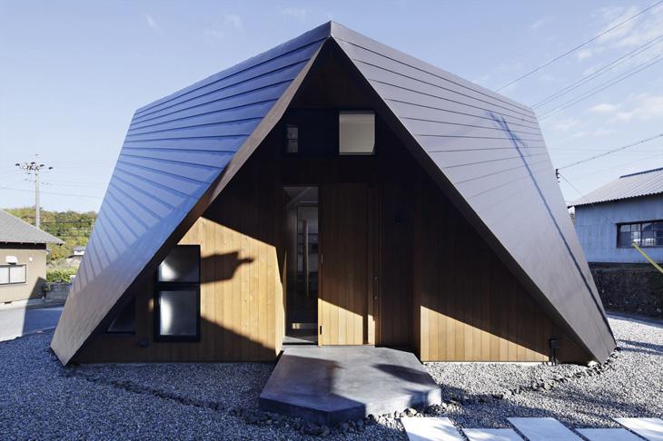 modern loft triangle house tsc architect in japan (4)