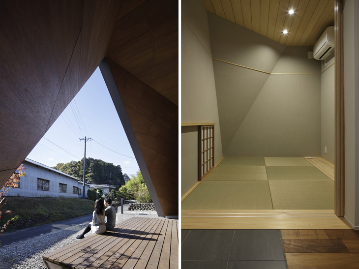 modern loft triangle house tsc architect in japan (6)