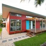 บ้านชั้นเดียว ออกแบบสไตล์โมเดิร์นโทรปิคอล ให้ครอบครัวเล็กๆอยู่ได้สบายๆ