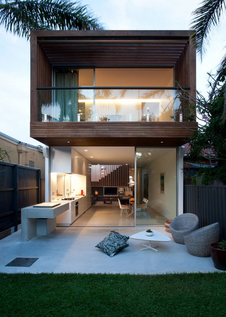 modern tropical townhouse from australia (6)