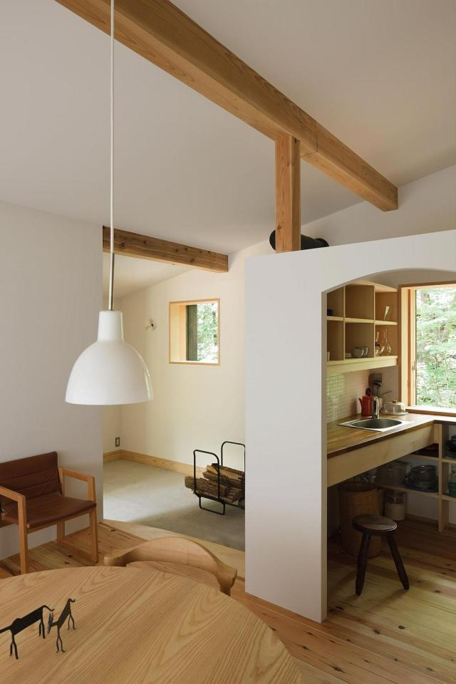 modern wooden japanese house in countryside (12)