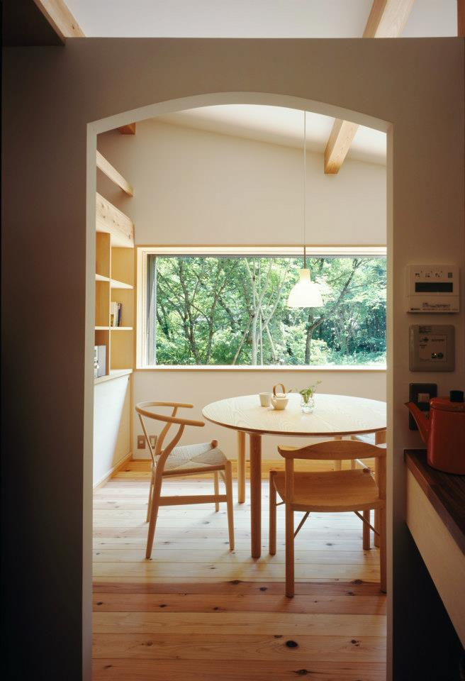 modern wooden japanese house in countryside (13)