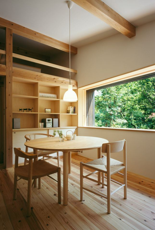 modern wooden japanese house in countryside (9)
