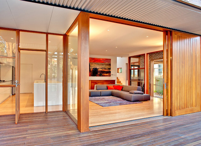 renovated 100 years old house to modern contemporary style australia (8)