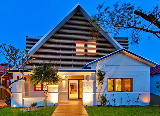 renovated 100 years old house to modern contemporary style australia (9)