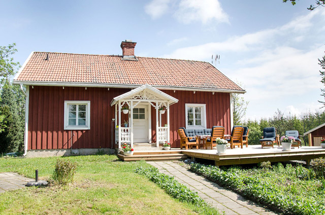 two bedrooms cottage scandinavianhouse idea (1)