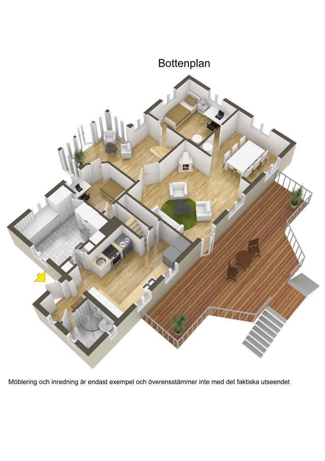 two storey cottage house idea (23)