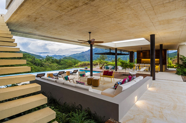 vacation house contemporary idea on columbian hill with pool (9)