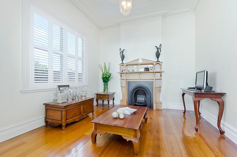 victorian white house with garden green idea modern interior (3)