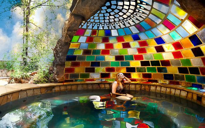 waterfall pool garden idea (12)