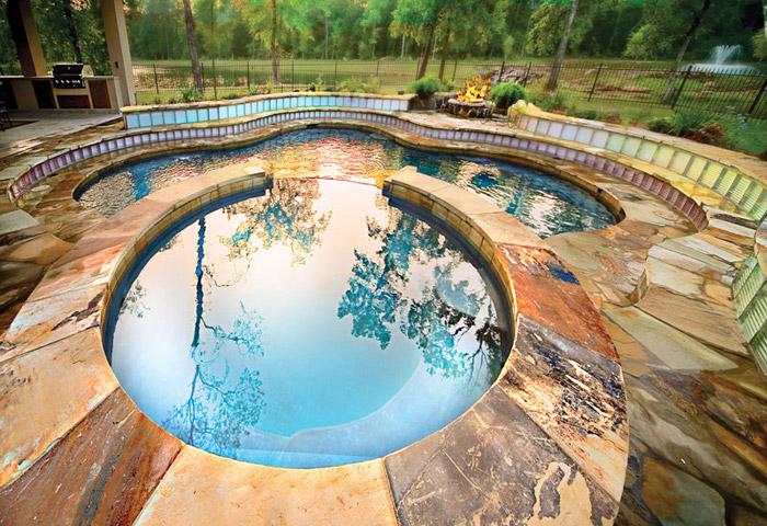 waterfall pool garden idea (23)