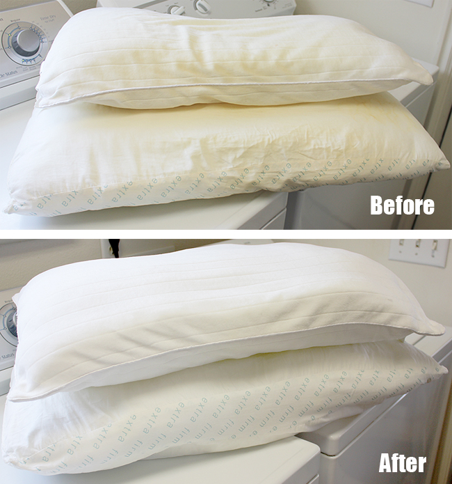 DIY washing pillows with machine (2)