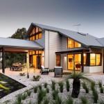 บ้านแบบร่วมสมัย ออกแนวเรียบง่ายเพื่อครอบครัวกลาง-ใหญ่ ภายในปลอดโปร่ง