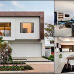 บ้านสองชั้นขนาดกำลังดี ตกแต่งภายในสไตล์โมเดิร์นด้วยสีขาว-ดำดูทันสมัย
