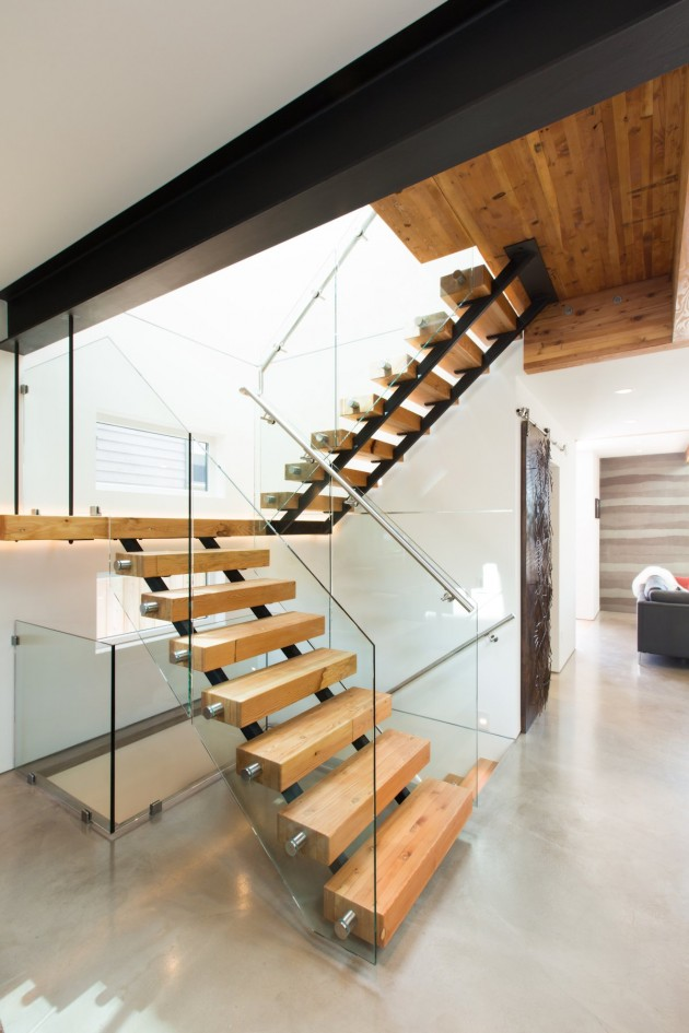 modern contemporary eco friendly house with white and elegant interior in canada (11)