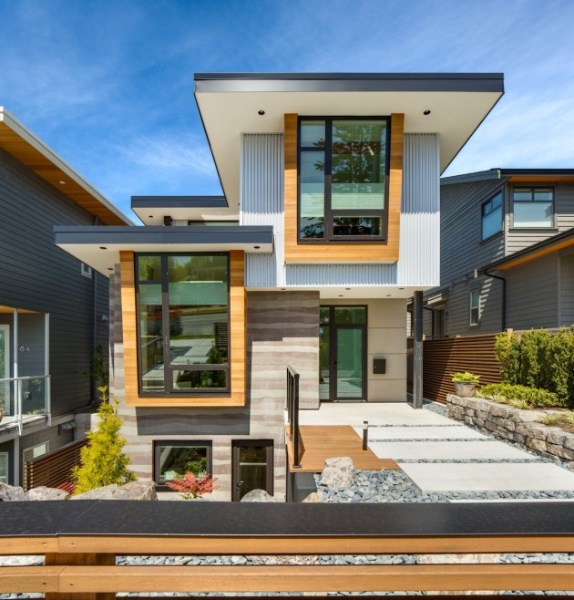 modern contemporary eco friendly house with white and elegant interior in canada (2)