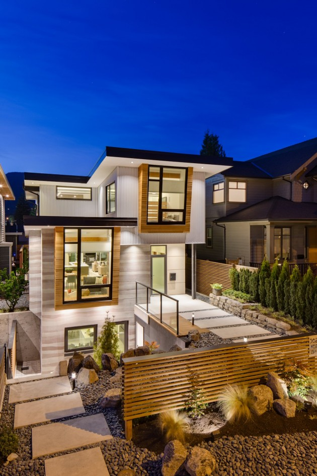 modern contemporary eco friendly house with white and elegant interior in canada (3)