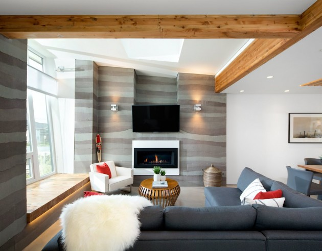 modern contemporary eco friendly house with white and elegant interior in canada (7)