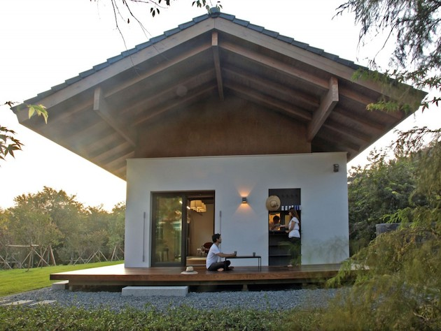 modern country cottage house in south korea countryside (1)