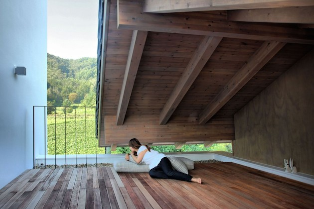 modern country cottage house in south korea countryside (4)