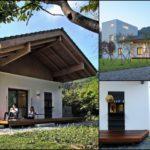 บ้านสไตล์ชนบททรงหน้าจั่ว บรรยากาศอบอุ่นแบบคันทรี กับดีไซน์การออกแบบที่เน้นความโปร่งโล่งและเรียบง่าย