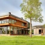 บ้านฟาร์มในชนบท ออกแบบสไตล์โมเดิร์นเก๋ๆ ความโปร่งสบายของชีวิตสมัยใหม่