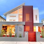 บ้านโมเดิร์นใจกลางเมือง กับการออกแบบหลังคาเอียง ดูโดดเด่นและไม่เหมือนใคร